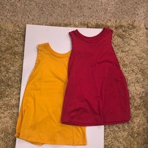 2 bluenotes muscle shirts